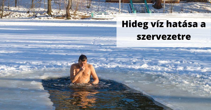 Hideg víz hatása a szervezetre